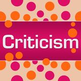 Krytyk kropek Różowy Pomarańczowy kwadrat royalty ilustracja