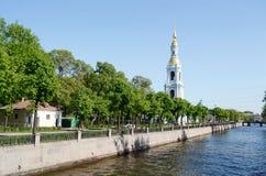 Kryukov Canal Embankment, St. Petersburg. Stock Photo