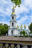 Kryukov canal. St. Nicholas Cathedral Stock Images