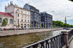 Kryukov canal in St. Petersburg Royalty Free Stock Image