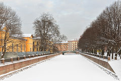 Kryukov Canal, St. Petersburg, Russia Stock Photos