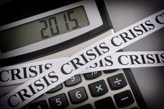 Kryzys 2015 Zdjęcie Royalty Free
