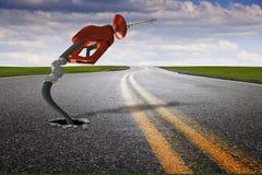 kryzys cen gazu Zdjęcie Stock