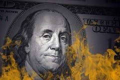 kryzys pieniężny Obrazy Stock