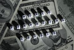 kryzys pieniężny Zdjęcie Stock