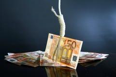 kryzys pieniężny obraz stock