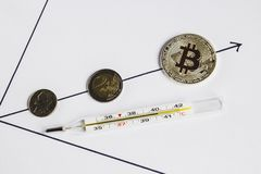 Kryzys pieniężny system obrazy stock