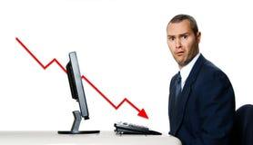 kryzys pieniężny Zdjęcia Stock