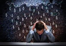 Kryzys w biznesie Obraz Stock