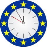 kryzysu euro wektor Fotografia Stock