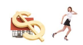 kryzysu nieruchomości real Obraz Royalty Free