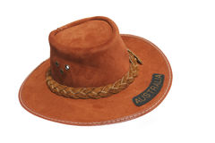 krzak australijskiego kapelusz Fotografia Royalty Free