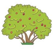 Krzak z jagodami royalty ilustracja