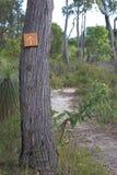 krzak znak Zdjęcie Royalty Free