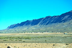 krzaka Morocco Africa dolinny atlant suchy Zdjęcia Stock