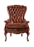 krzesła ścinku odosobniony luksusowy ścieżki biel Zdjęcia Royalty Free