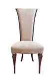 krzesła ścinku odosobniony luksusowy ścieżki biel zdjęcie stock