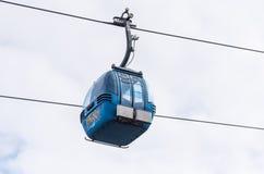 Krzesła dźwignięcie dla narciarstwa zdjęcie royalty free