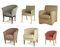 krzesła drapują Zdjęcia Stock