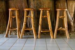 krzesła drewniany krzesło Zdjęcia Royalty Free