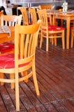 Krzesła i stoły Zdjęcia Royalty Free