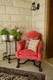 krzesła kąta rośliny stojak Obraz Royalty Free