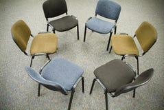 krzesła na spotkanie Obrazy Royalty Free