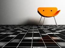 krzesła projekta wnętrze royalty ilustracja