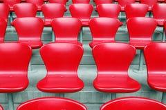 krzesła stadium fotografia stock