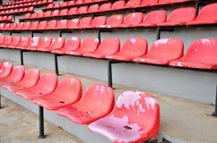 Krzesła stadium Zdjęcia Stock