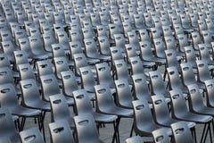 krzesła ustawiający Fotografia Royalty Free