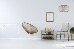 Krzesła w anteroom zdjęcie royalty free