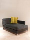 krzesło łatwa szara miękka Zdjęcie Royalty Free