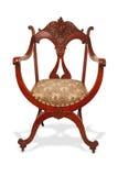 krzesło antykwarski mahoń Zdjęcie Stock