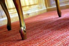 krzesło antykwarski szczegół Zdjęcie Royalty Free