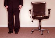 krzesło biznesmena obraz royalty free