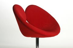 krzesło czerwień obrazy stock