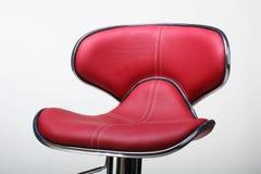 krzesło czerwień Obraz Royalty Free