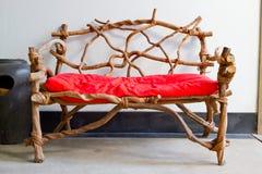 krzesło czerwień Fotografia Stock