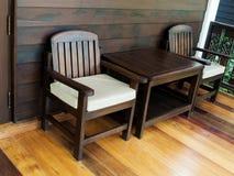 krzesło drewna Obraz Stock