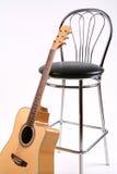 krzesło gitara obraz royalty free
