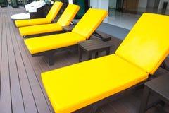 Krzesło hole w pływackim basenie, Tajlandia Fotografia Stock