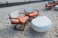 Krzesło i stół Fotografia Royalty Free