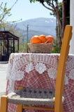 Krzesło i stół Obrazy Stock