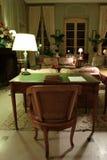 krzesło lampy stół fotografia royalty free