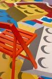 krzesło lego obrazy stock