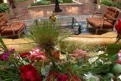 krzesło lobby hotelu tabela kanap whit zbiory wideo