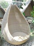 Krzesło od rattan zdjęcia royalty free