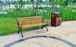 krzesło park Obraz Stock