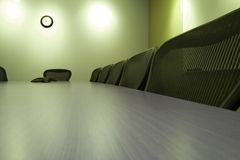 krzesło sali konferencyjnej rząd Zdjęcie Royalty Free